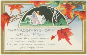 Thanksgiving day greetings. Digital ID: 1588308. New York Public Library