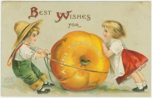 Best wishes for a good Thanksgiving.