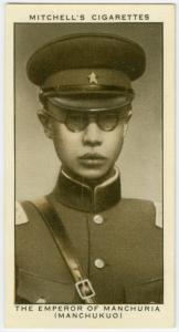 The Emperor of Manchuria (Manchukuo).