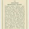 George Bernard Shaw.