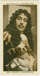 Sir Cedric Hardwicke.
