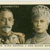 T. M. King George V and Queen Mary.
