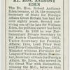 Rt. Hon. Anthony Eden.