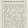 Marquess of Reading.