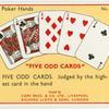 """Five Odd Cards"""