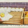 Preserving the flavour of apples.