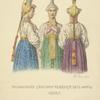 Trozhkovskiia devushki s ventse bez faty. 1832.