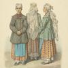 Odezhda zhenshchin Kievskoi gubernii. 1843 g.