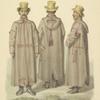 Zhitomirskii meshchanin v burke ili kobeniake. 1845.