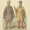 Odezhda kazatskikh nachalnikov nachala 18 veka.
