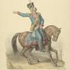 Polskii rotmistr od narodnoi kavalerii 1792 s eskiza Olenina, ris. Solntseva.