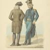 "Ofitser Polskii en grand deshabille; Ofister Polskii en negligee gallant, 17982 goda"""