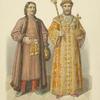 S portreta Naryshkina; Odezhda tsarskaia. XVII veka.]