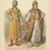 Odezhda boiar v XVI i XVII stoletii; Polevoe plate Godunova; Izobrazhenie stolnika Petra Potemkina.