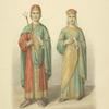 Odezhda kniazheskaia. s freskov Kievskogo Sofiiskogo sobora. XI st.