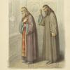 Sviashchennik i diakon pred nachalom liturgii.1830.
