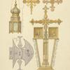 1. Fonar Troiitskoi Lavry. 2. Zaprestolnye krest i ikony Spaso-Efimievasuzhdalskogo monastyria. 1842.