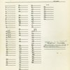 Master track sheets
