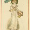 [Girl with umbrella.]