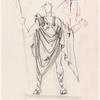 Alceste : Costume: Act III, Admetus