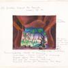 """Zauberflöte : Set: """"14; II, scenes 29-30""""; """"Garden beyond temple"""""""