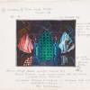 """Zauberflöte : Set: """"16 II, scene 32""""; """"Cavern of Water and Fire"""""""