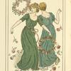 [Two women dancing.]