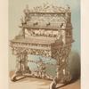 White-wood cabinet, by Michel L. Wettli of Berne.