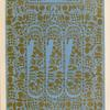 Specimen of Indian embroidery.