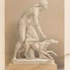 The hunter - a statue in marble by John Gibson, esq. R. A.