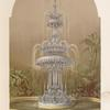 The crystal fountain F & C Osler of London and Birmingham.