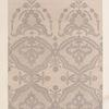 Black lace flounce, (Nottingham manufacture) by Greasely & Hopcroft.