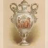 Vase in China from the royal manufactory at Sévres. [sic]