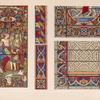 Specimens of stained glass by Lusson & by Gerente of Paris.