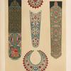 Specimens of enamelling from Indian arms.