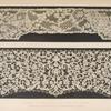 Specimens of lace by Miss Jane Clarke of London.