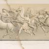The hours leading forth the horses of the sun - a relief by John Gibson, R. A. of Rome.