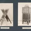 Korankasten mit Einlagen; Koranständer mit Einlagen.