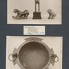 Bronzeleopard; Bronzelöwe; Bronzehirsch; Großer Bronzekessel.