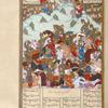 The troops of Bahrâm Chûbînah defeat those of Sâvah Shâh.