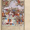 Bahrâm Chûbînah's forces defeated by the army led by Khusrau Parvîz.