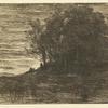 Le bois de l'ermite (2nd state)