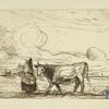 La vache et sa gardienne (2nd state)