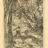 Le bucheron de Rembrandt (reproduction en sens inverse)