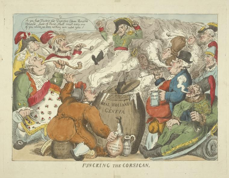 Fascinating Historical Picture of Thomas Rowlandson on 12/6/1813