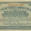 One-half Certificate [tobacco premium]