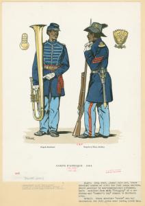 Corps d'Afrique, 1864.