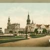 Church and royal castle, Dresden, Germany.