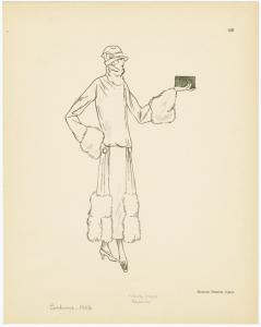 [Manteau by Drecoll, 1923.]