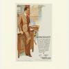 Three-button notch lapel suit]